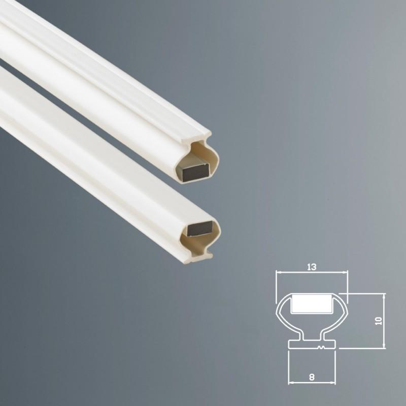Guarnizione magnetica box doccia in gomma ec mag 8 dc for Guarnizioni box doccia