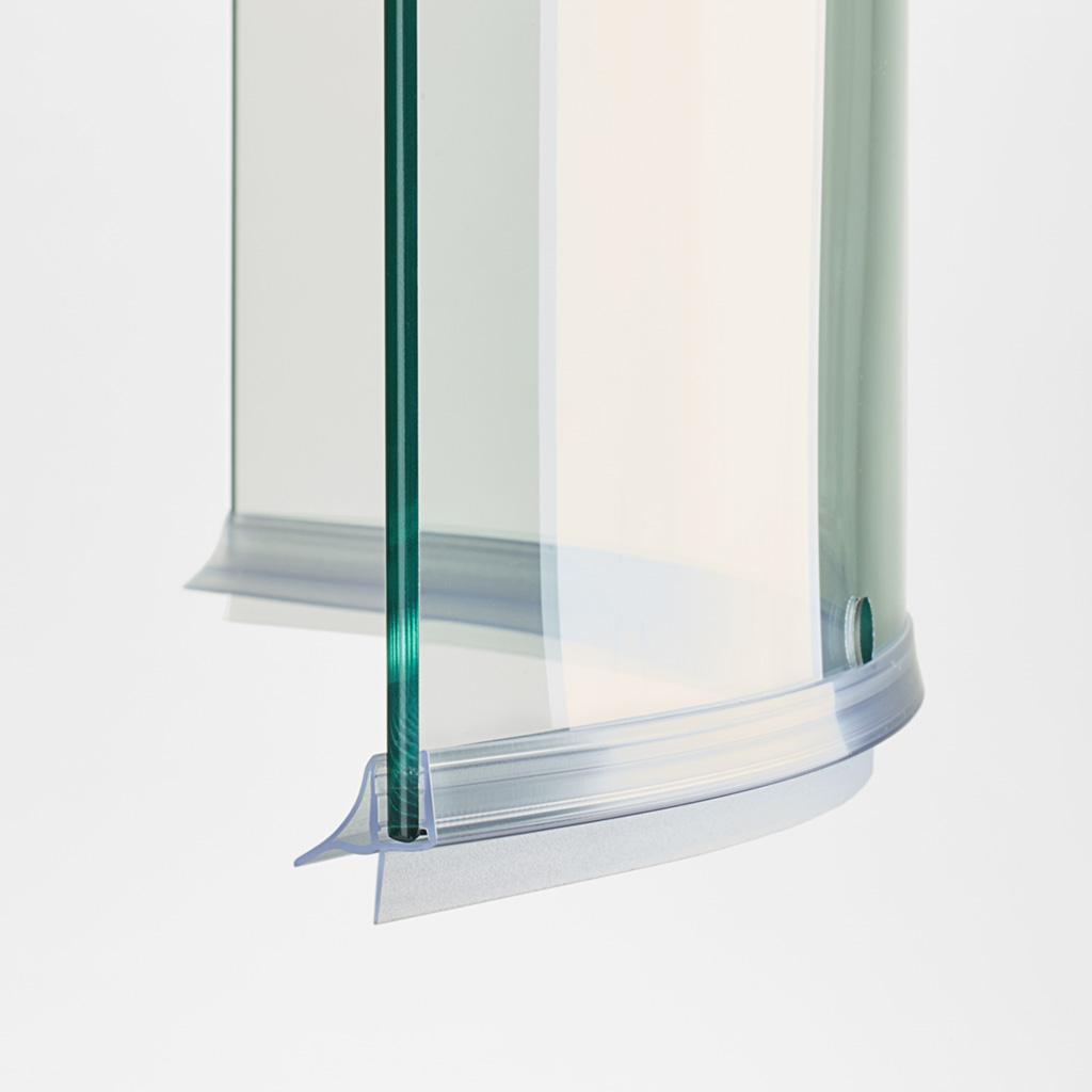 Guarnizione box doccia di ricambio vetro curvo 6mm 8mm - Vetri per doccia ...
