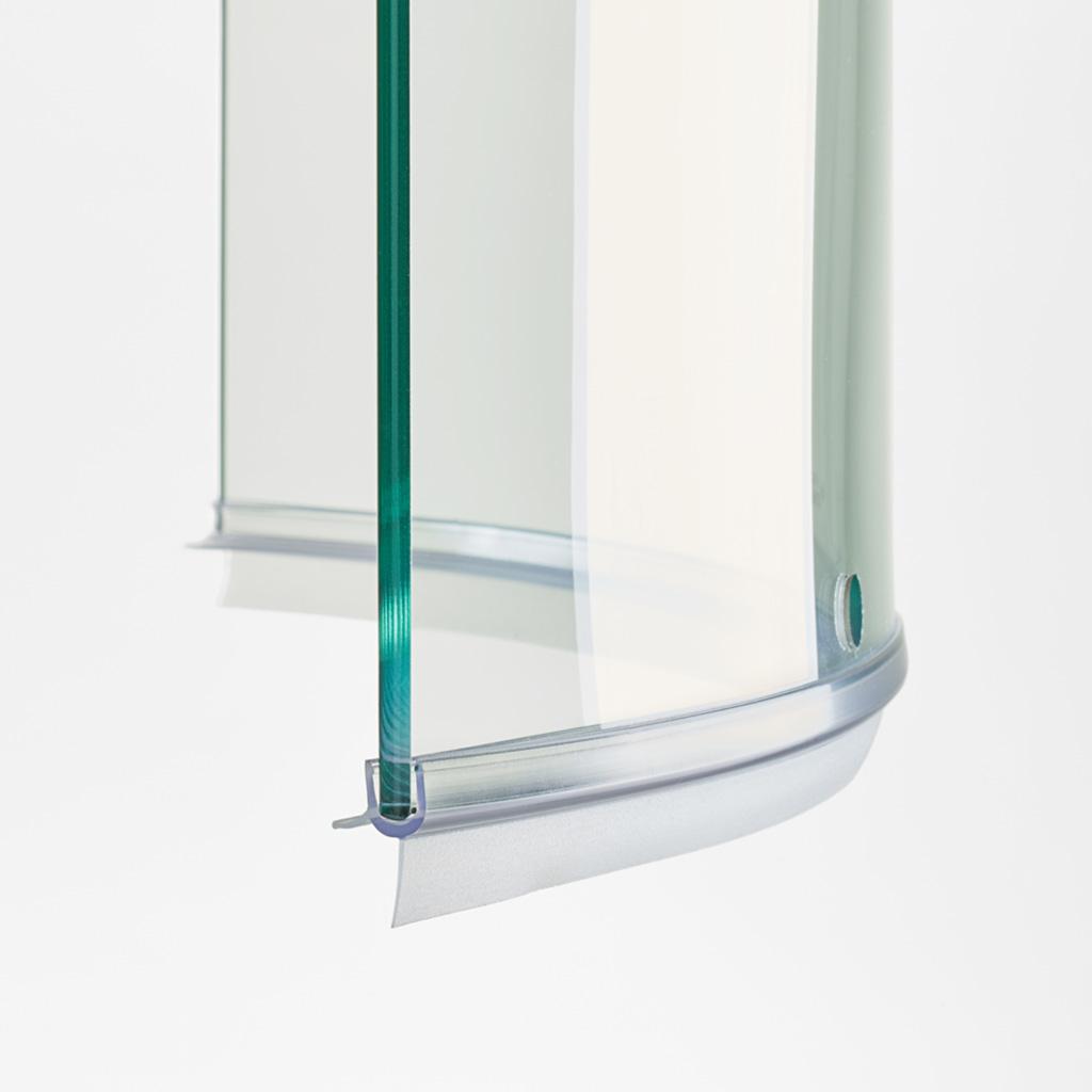 Guarnizione box doccia di ricambio vetro curvo 8mm ec 1911 c for Guarnizioni box doccia